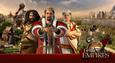 Forge of Empires - online budovatelská webovka