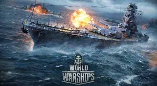 Lodě online hry - World of Warships