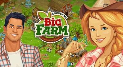 Farmářské hry online - Big Farm