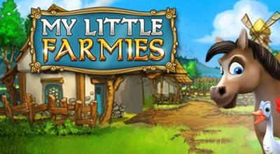 My little farmies - budovatelská strategie se zvířaty