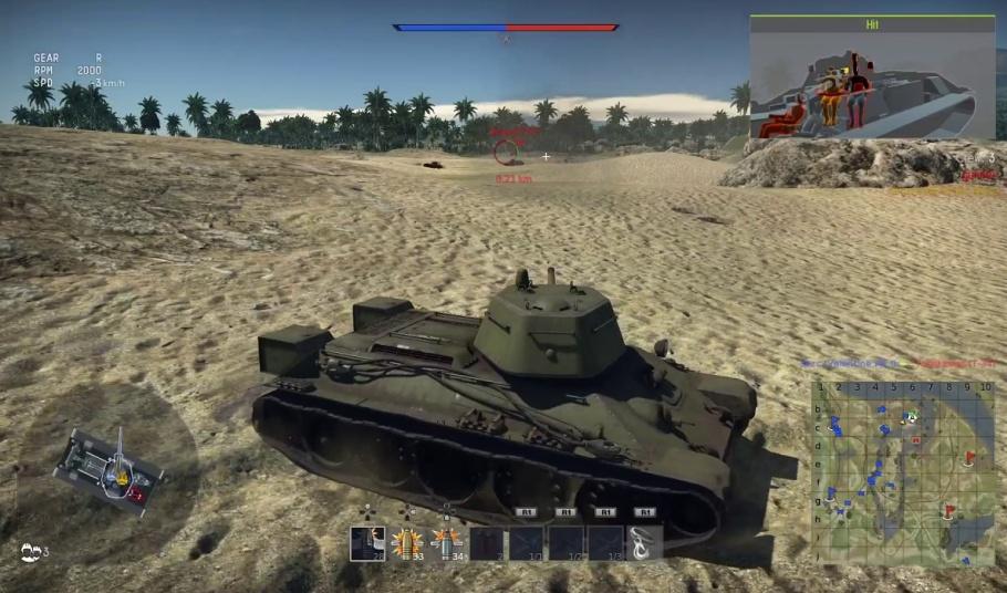 War Thunder náhled z hry
