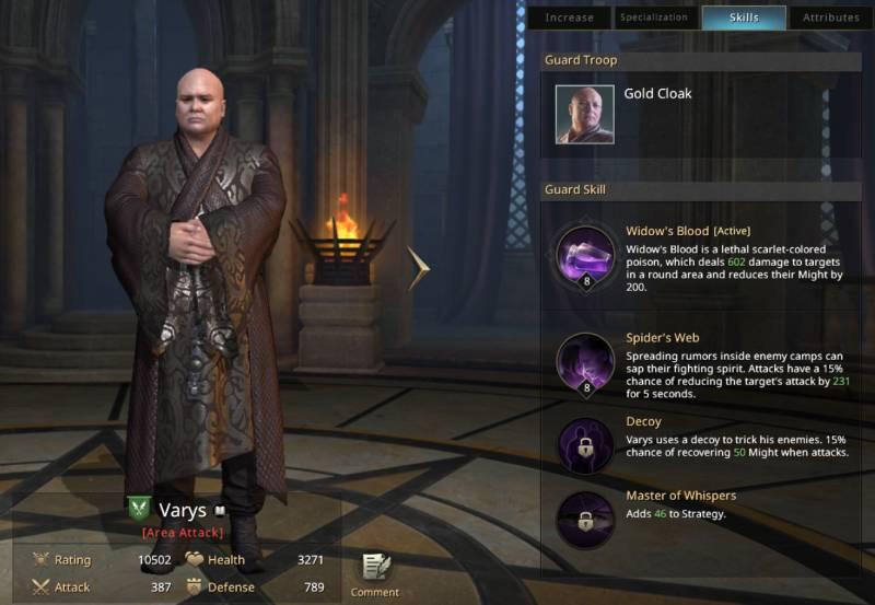 Hra o trůny - velitel