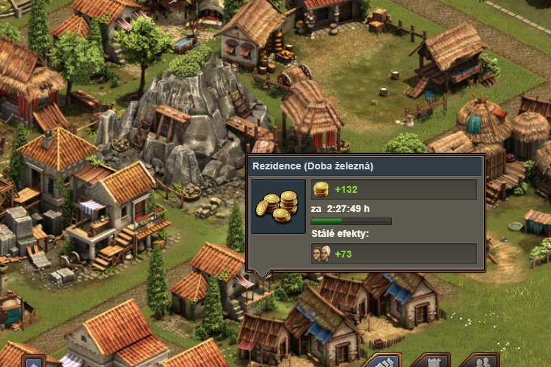 Forge of Empires budovy